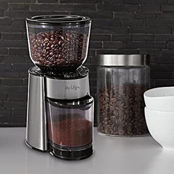 Mr. Coffee Automatic Burr Mill Grinder With 18 Custom Grinds, Silver, Bmh23-rb-1 4
