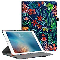 Fintie iPad Pro 9.7 Case - Multiple Angles Stand Protective Cover with Smart Stand Cover Auto Sleep/Wake Feature for iPad Pro 9.7 inch (2016 Version), Jungle Night