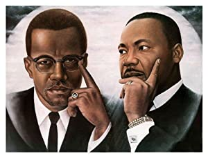 malcom x and martin luther king Almost four decades after martin luther king, jr, and malcolm x offered sharply  contrasting ideas regarding the future direc-tion of black.