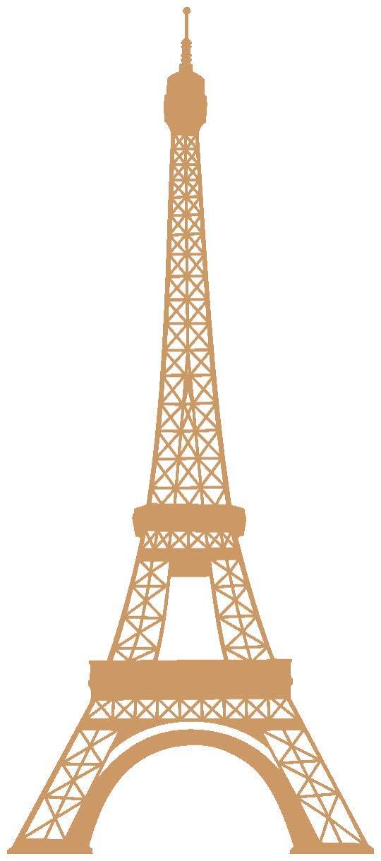 Samunshi® Wandtattoo Eiffelturm Paris Wandaufkleber Wandaufkleber Wandaufkleber in 13 Größen und 25 Farben (69x160cm Enzian) B00913H1SQ Wandtattoos & Wandbilder e63a69