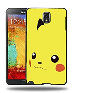 Case88 Designs Pokemon Pikachu Protective Snap-on Hard Back Case Cover for Samsung Galaxy Note 3