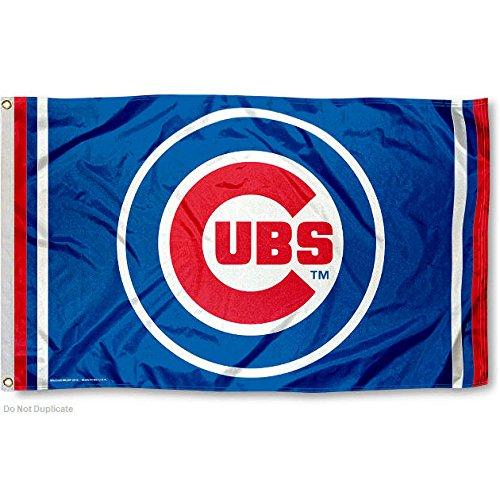 Chicago Cubs Circle Logo Flag