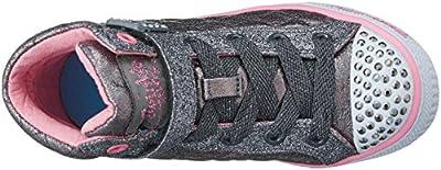 Skechers Kids Twinkle Toe Heart and Sole Light Up Sneaker (Little Kid/Big Kid)