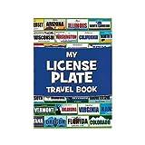 Fun Express License Plate Travel Sticker Book Game - 12 pieces