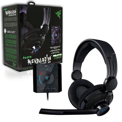 RAZER USA, LTD, Razer Megalodon Gaming Headset (Catalog Category: Consumer Electronics / Audio Electronics)