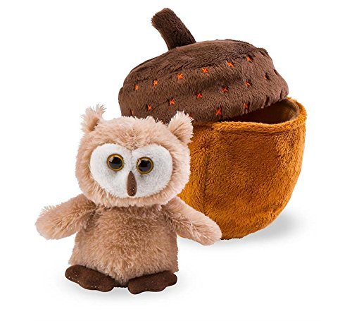 Woodland Friend with Home, Acorn Owl