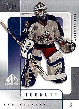 Amazon.com  (CI) Ron Tugnutt Hockey Card 2000-01 SP Game Used (base ... 2bd732852