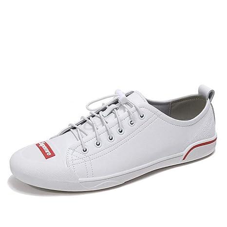 Hy Calzado Casual de Hombre 2019 Nuevo Calzado de Cuero Casual, Mocasines Ligeros y Zapatos