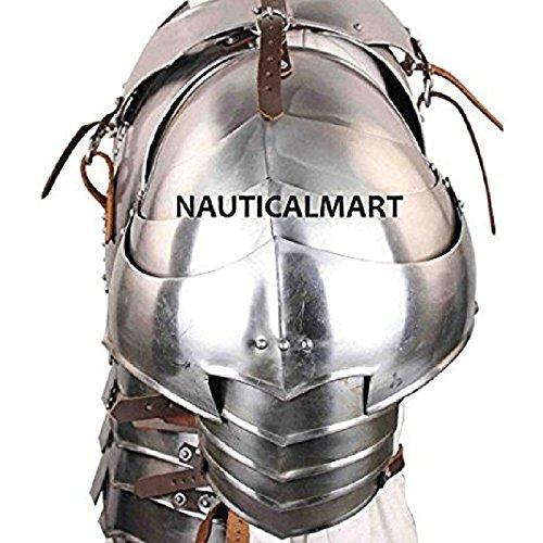 NAUTICALMART Medieval 18g Steel Avenger Pauldrons Set by NAUTICALMART