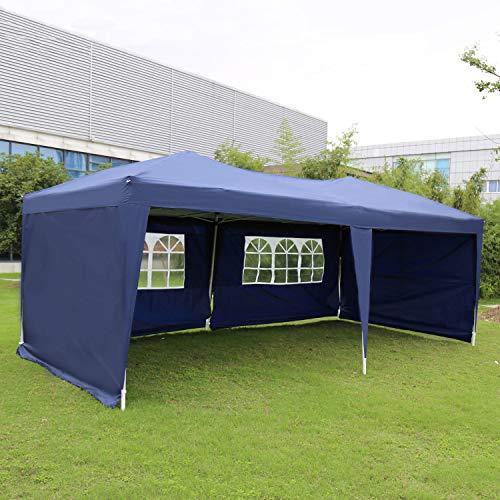 Kinbor Outdoor Portable Adjustable Instant Pop Up Gazebo Canopy Tent by Kinbor (Image #1)