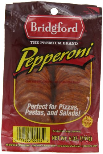 (Bridgford Pepperoni, Sliced, 5-Ounce Packages (Pack of 6))