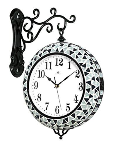 SUNQIAN-Creative European quartz clock, when the double bedroom decoration wall clock, wall clock, electronic clock hanging mute by SUNQIAN