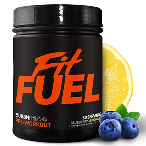 Fit Fuel Pre-Workout Supplement   Vitamins, Electrolytes, Specialized Amino Acids, and Caffeine   Energy and Performance Booster   Fast Muscle Recovery