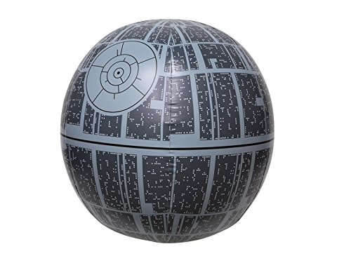 SwimWays Star Wars Death Star Light-Up Inflatable Beach Ball]()