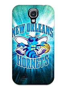 DanRobertse AXukWlQ531ySVrI Protective Case For Galaxy S4(new Orleans Hornets Pelicans Nba Basketball (9) )