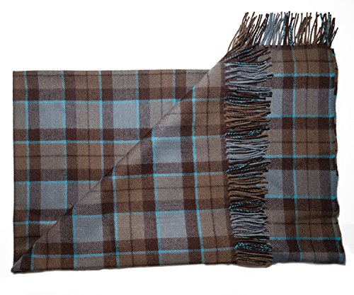 (The Celtic Croft Outlander Blanket Premium Lambswool Tartan (Mackenzie))