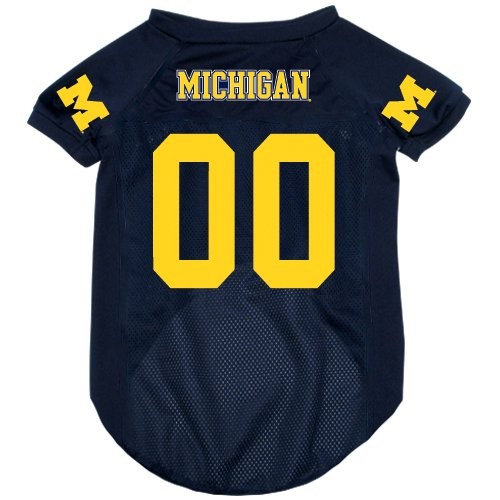 NCAA Michigan Wolverines Pet Jersey,  Small