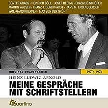 Meine Gespräche mit Schriftstellern 1970-1974: Originaltonaufnahmen | Livre audio Auteur(s) : Heinz Ludwig Arnold Narrateur(s) : Günter Grass, Heinrich Böll, Josef Reding
