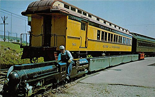 National Railraod Museum, Scale Model, New York Central Hudson type Locomotive, the Henry C Hyslop Green Bay, Wisconsin, WI, USA Postcard Post - Bay Wi In Green Parks