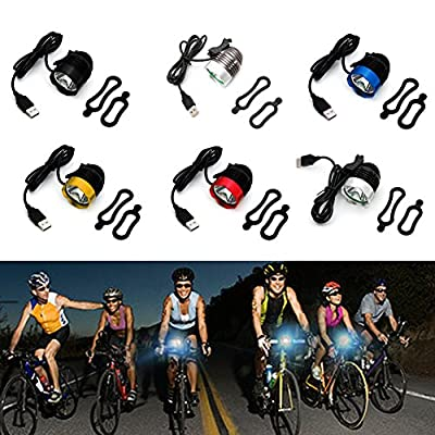 LAYs LED Bike Headlight Waterpoof USB Rechargeable Bicycle Front Light Headlamp 1200 Lumen for Cycling
