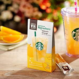 Starbucks VIA Valencia Orange Refreshers