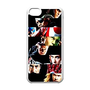 The Avengers FG0069488 Phone Back Case Customized Art Print Design Hard Shell Protection Iphone 5C