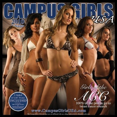 (Campus Girls USA Girls of the ACC WALL CALENDAR 2010)