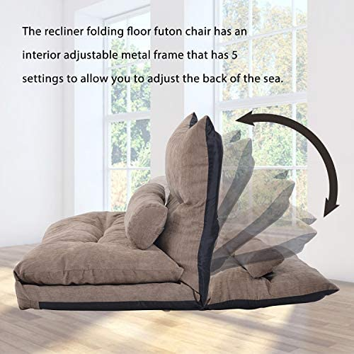 home, kitchen, furniture, living room furniture,  sofas, couches 12 picture Merax Floor Sofa Bed Adjustable Sleeper Bed Sofa deals