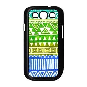 Green Tribal Pattern ZLB555576 Custom Phone Case for Samsung Galaxy S3 I9300, Samsung Galaxy S3 I9300 Case