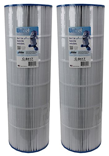 2) New UNICEL C-8417 Hayward Replacement Swimming Pool Filter Cartridge PXC-150 by Unicel