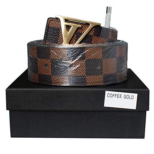 Buckle Casual Belts for Women Girl Men Boy Business Work