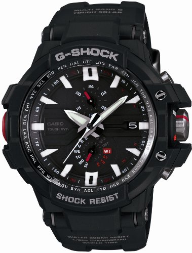 - Casio G-shock Sky Cockpit Tough Solar Radio Controlled Multiband 6 Gw-a1000-1a