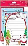 Dear Santa Wishlist Letter From Kids Santa Reply Letter To Children Set Envelope