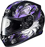 HJC Cosmos Womens CL-17 Street Bike Motorcycle Helmet - MC-11 / Medium