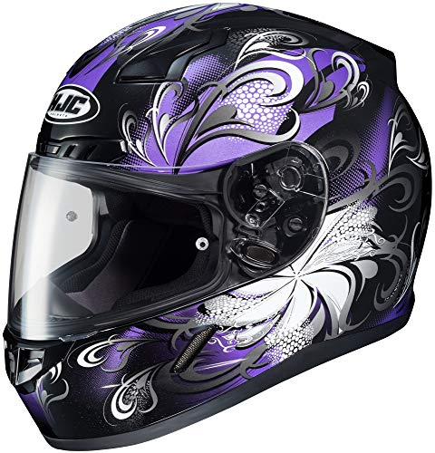 HJC Cosmos Womens CL-17 Street Bike Motorcycle Helmet - MC-11 / Large
