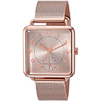 Michael Kors Women's Quartz Stainless Steel Casual Watch, Color:Rose Gold-Toned (Model: MK3664)