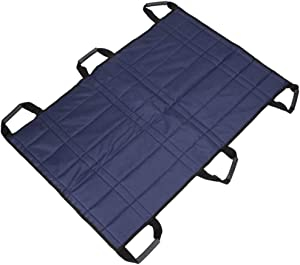 Z-SEAT Reusable Flat Slide Sheet Sliding Draw Sheets with Handles for Patient Transfers Turning Repositioning in Bed Home Care