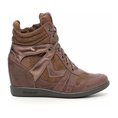 Marrone Alta Donna Nero Giardini Sneaker FaRY0