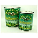 General Finishes Polyurethane Water Based Top Coat (Pint, Semi-Gloss)