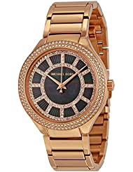 Michael Kors Womens Stainless Steel Casual Watch, Color:Rose-Tone (Model: MK3397)