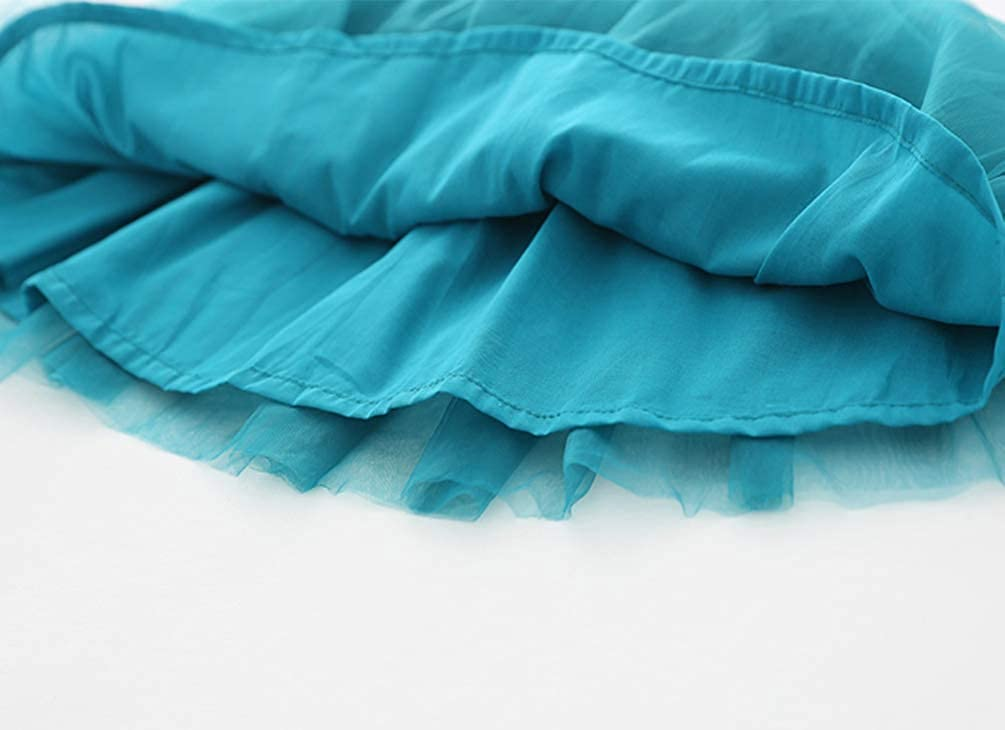 Baby Girls Toddler Tutu Dress Sleeveless Princess Infant Tulle Sundress Size 9-36 Months