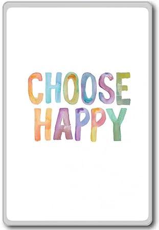 Amazoncom Choose Happy Motivational Inspirational Quotes Fridge