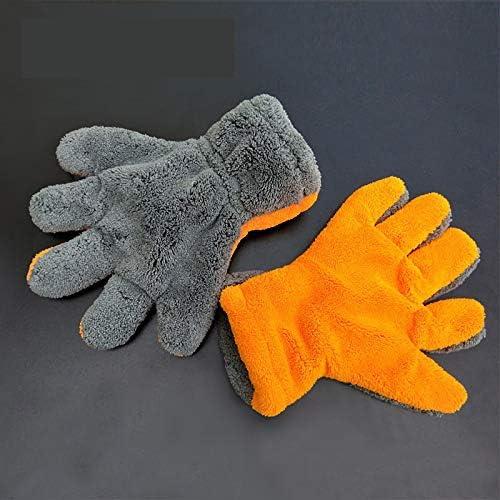 手袋 日常 実用 不凍液手袋肥厚した低温耐性液体窒素防風耐久性不凍液手袋 (Color : Multi-colored, Size : L-Eight pairs)