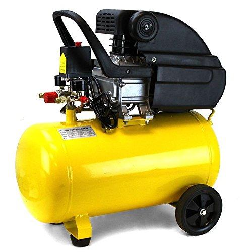 Air Compressor Portable Pneumatic 3.5 Hp Motor 125 Psi Cast Iron 10 Gallon New