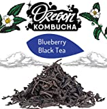 Kitchen & Housewares : Oregon Blueberry Black Tea Bag (1 ounce)