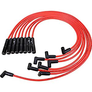 dragon fire racing ceramic spark plug wire set. Black Bedroom Furniture Sets. Home Design Ideas