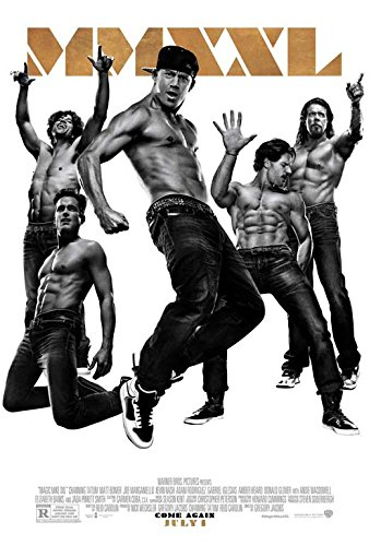 Magic Mike XXL Movie Poster 27 x 40 Style A 2015 - Glover Donald Style