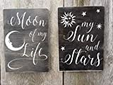 Set of 2 Game of Thrones GOT signs Moon of my Life My Sun and Stars