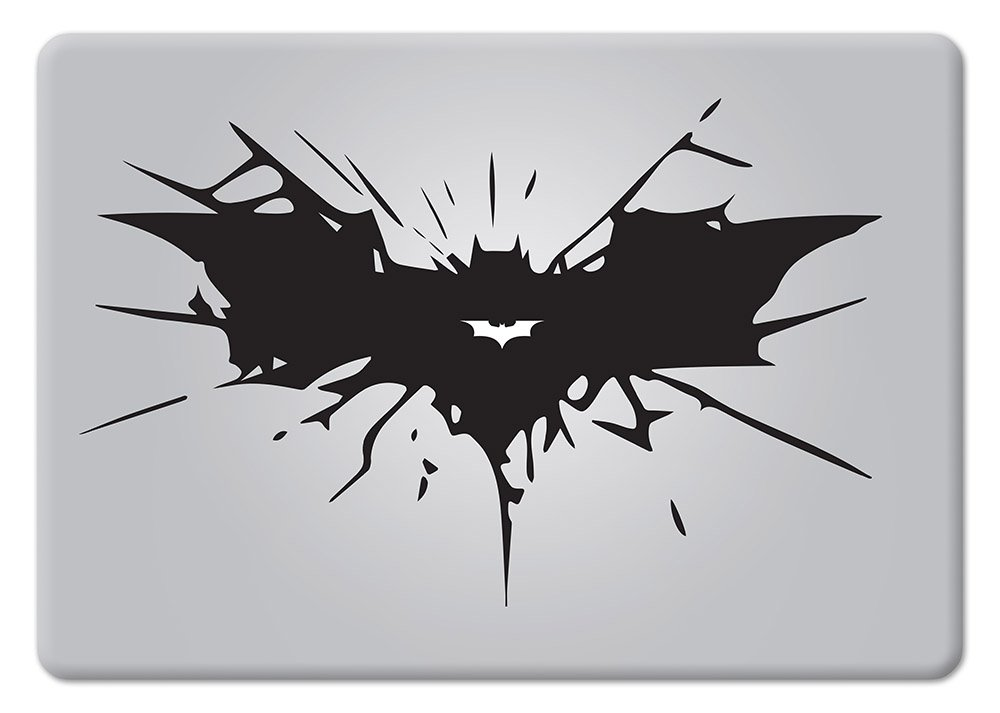Amazon Batman Cracked Bat Symbol Dark Knight Rises Symbol Apple