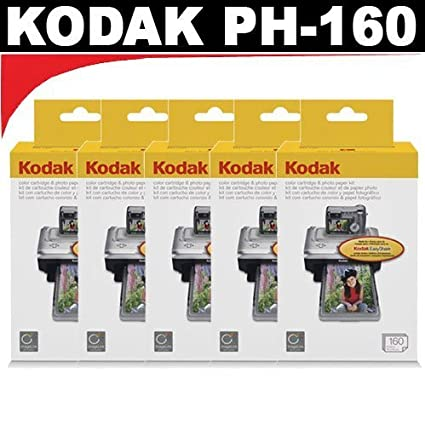 Amazon.com: Kodak PH160 Media Cartridge for Kodak EasyShare ...